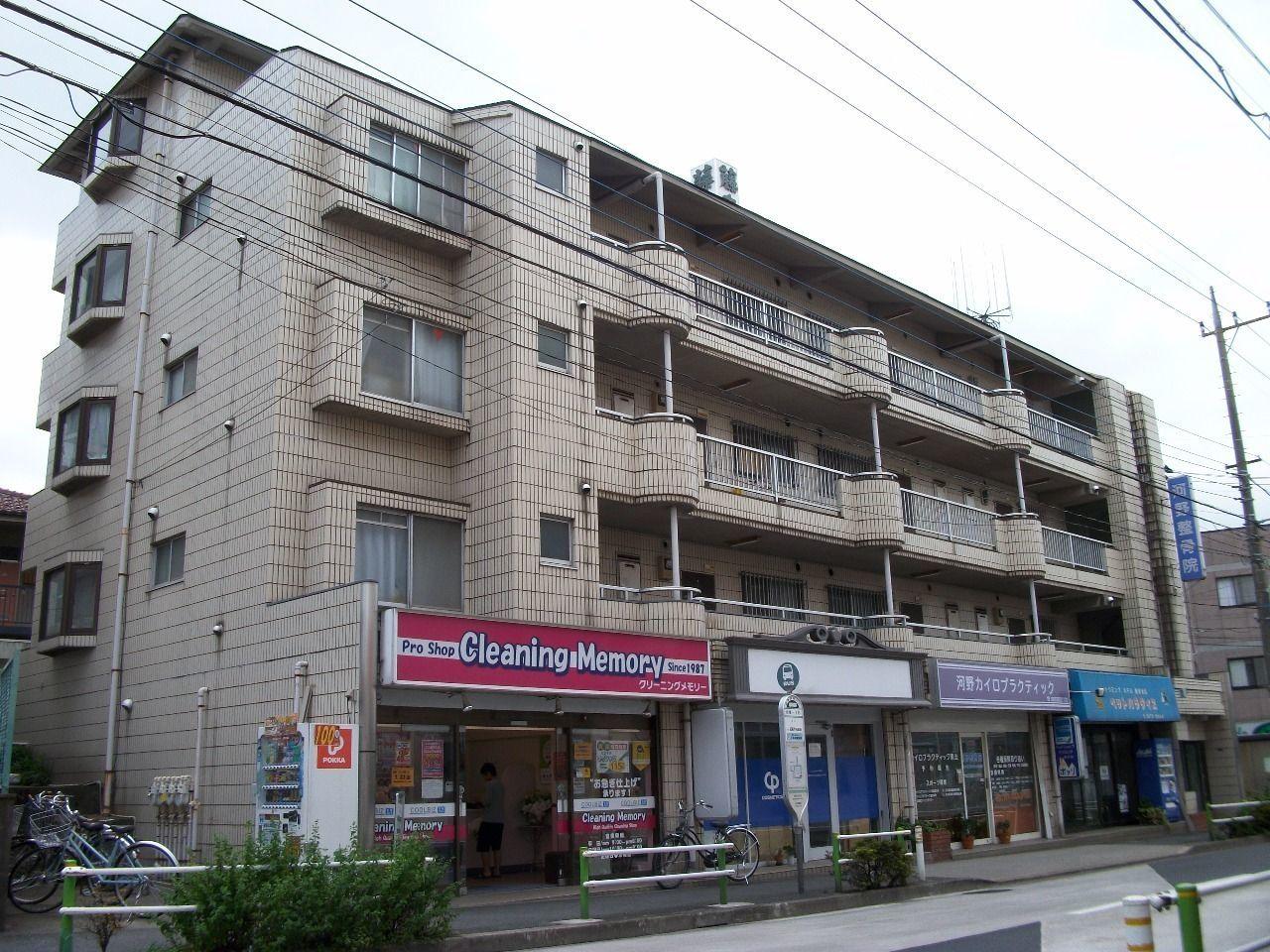 1階は店舗 2階からは住居