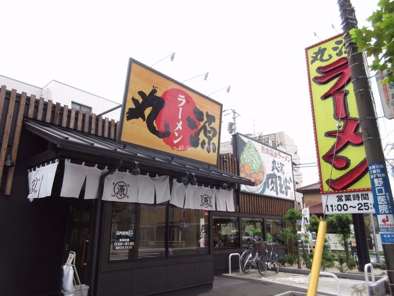 熟成醤油ラーメン「肉そば」が有名