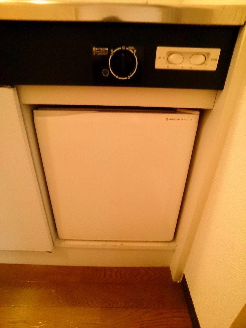 お持ちの冷蔵庫はお部屋に置けます