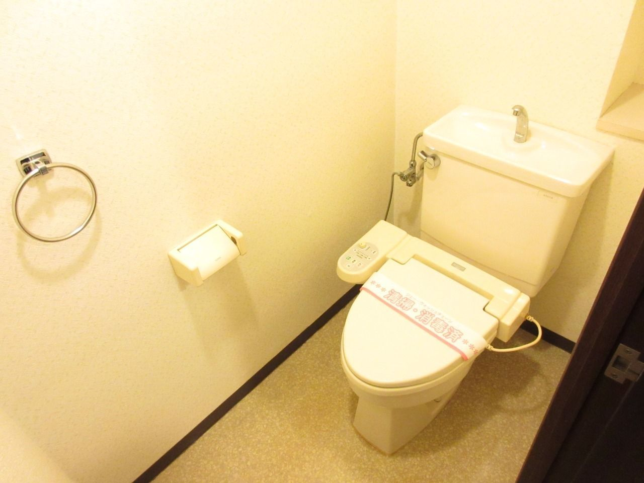 清潔な洗浄機能付シャワートイレ