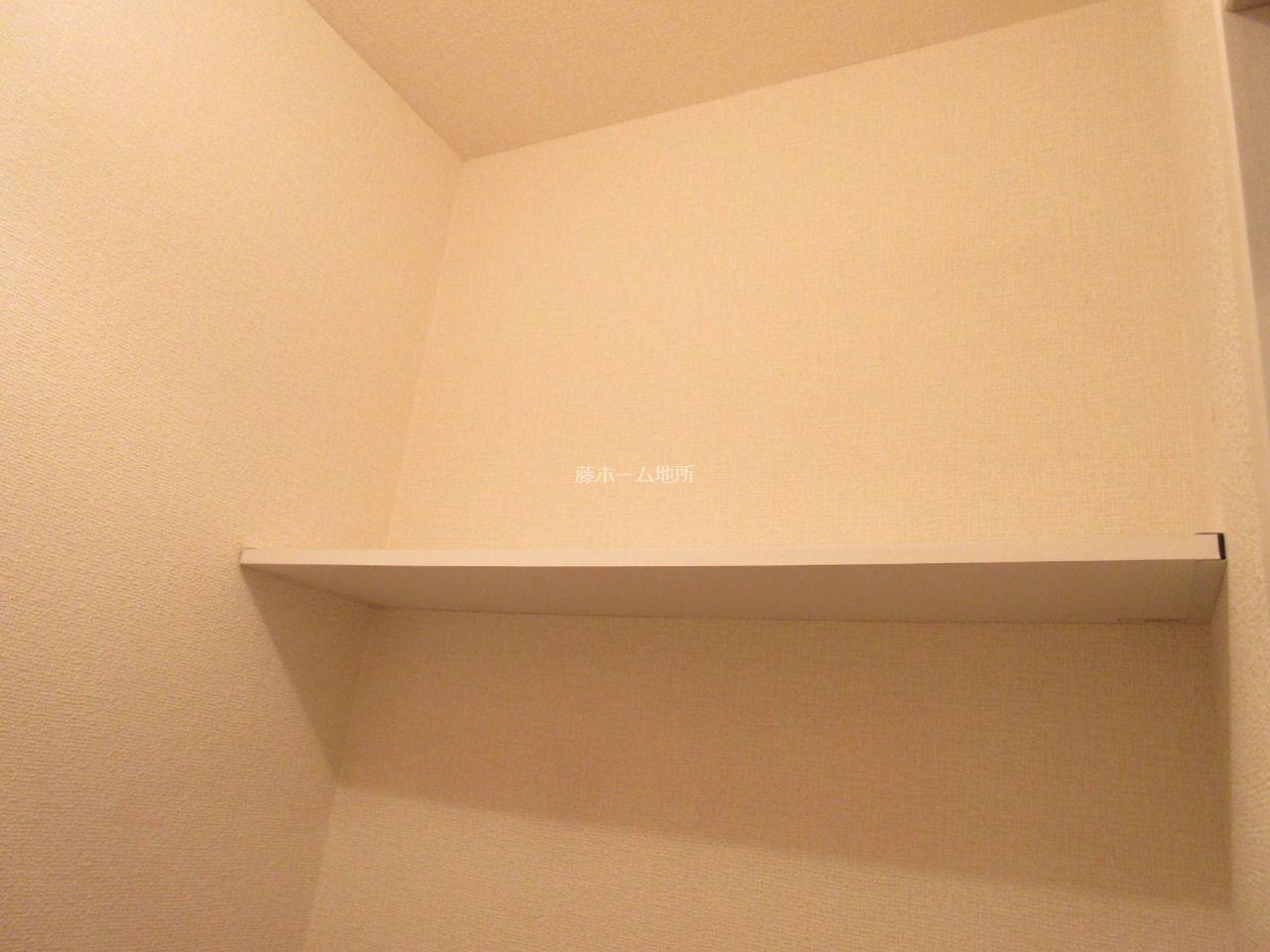 上部の収納棚