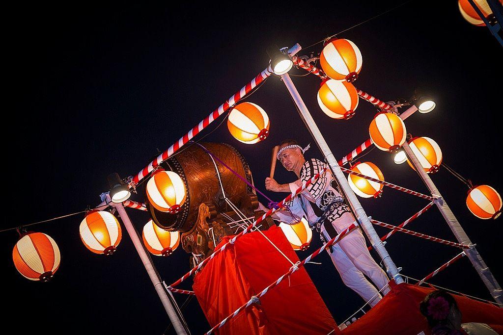 練馬区光が丘の夏祭り[むつみ台団地]