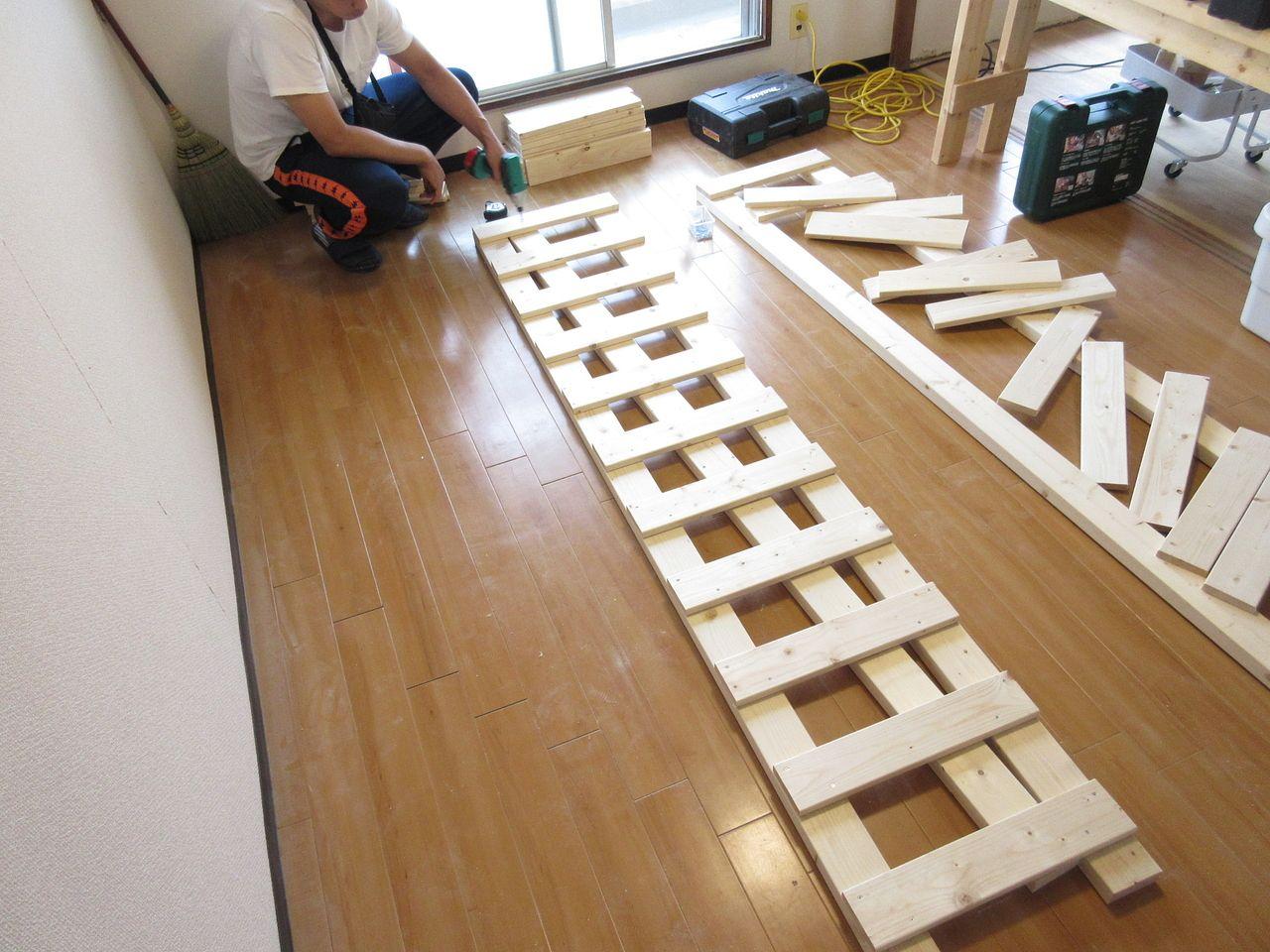 DIYで収納棚作り Part1