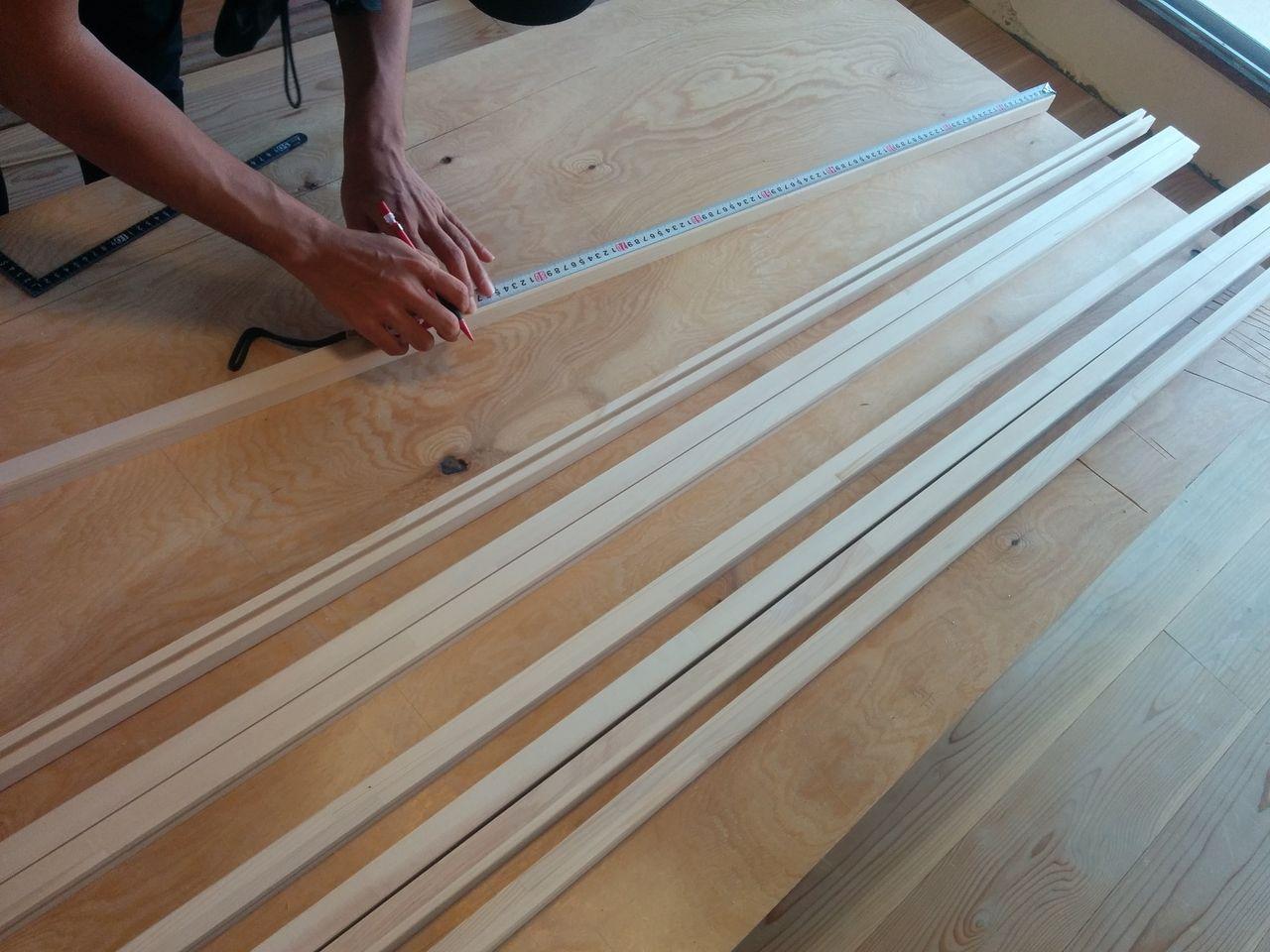 ほんのり透明な引戸を作る! Part2