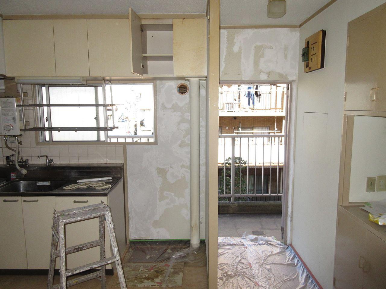 DIY賃貸予定部屋の工事レポート~Vol.2~