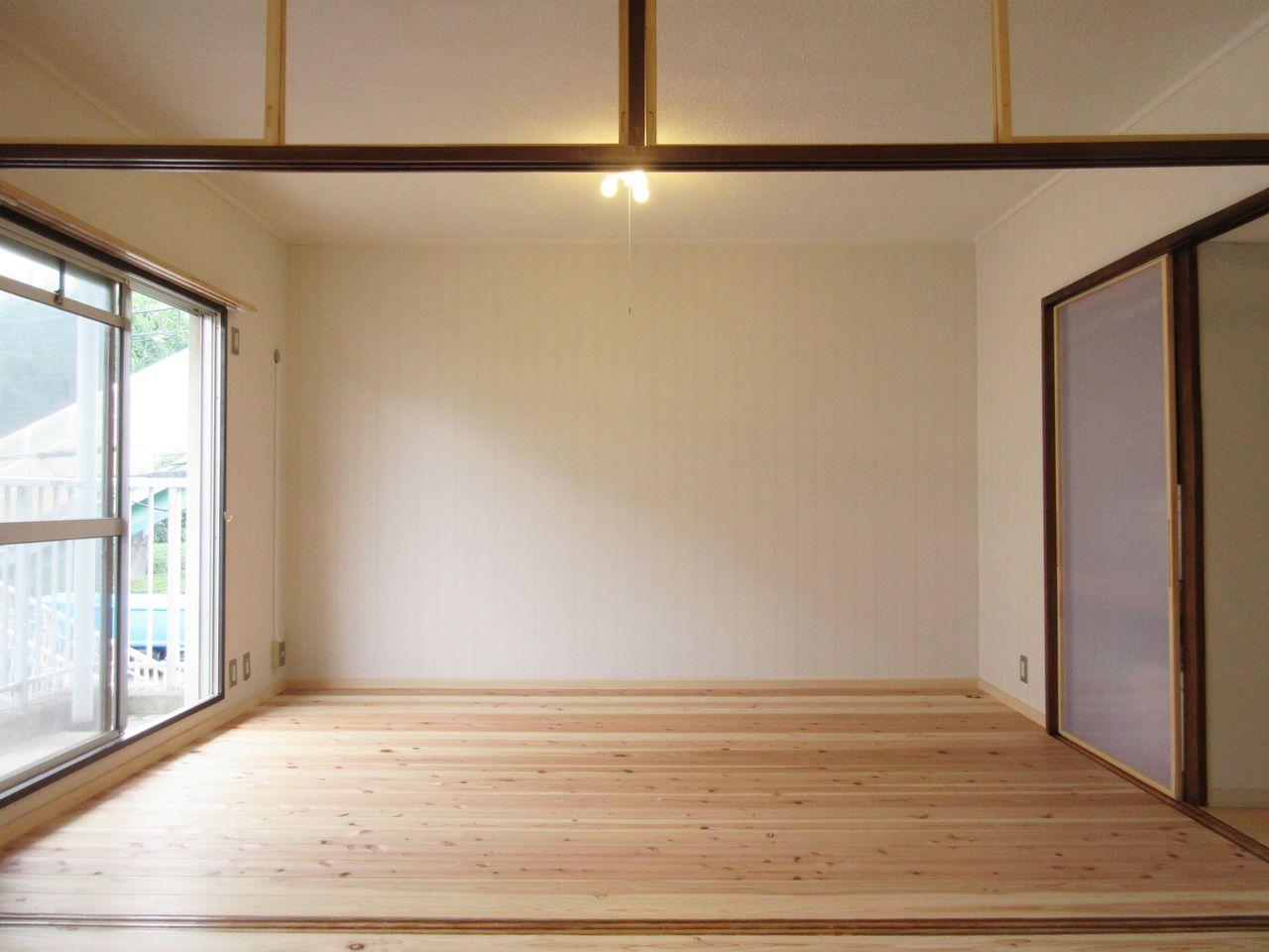 みなさまこんにちは。『DIY賃貸予定部屋の工事レポート~Vol.18~』の続きです。前回は募集条件の特徴を紹介しました。今回は室内空間について紹介していきます。
