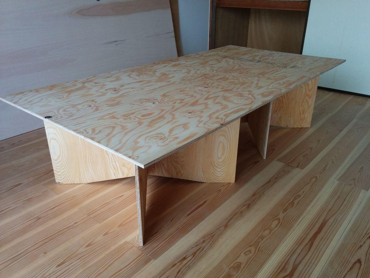 ペケ台をベースにテーブルを製作する!