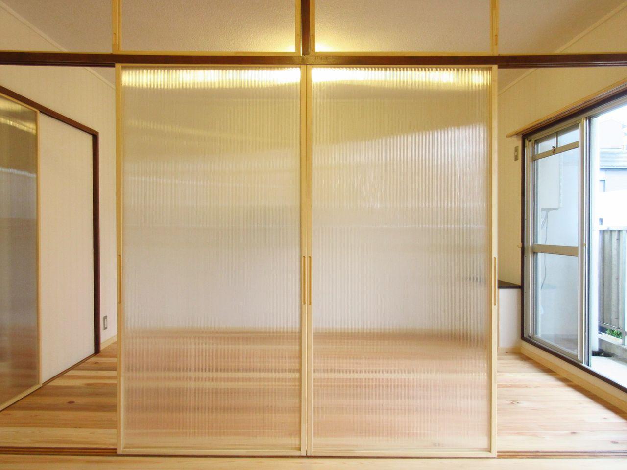 みなさまこんにちは。蓮根サニーハウスはDIY可能なお部屋です。そこで、DIY可能部位とDIY可能作業項目をご紹介します。