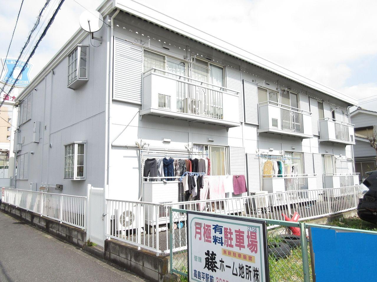 【板橋区高島平の賃貸アパート】~広々とした生活はいかがでしょうか?・ハビーハイツ 201号室~