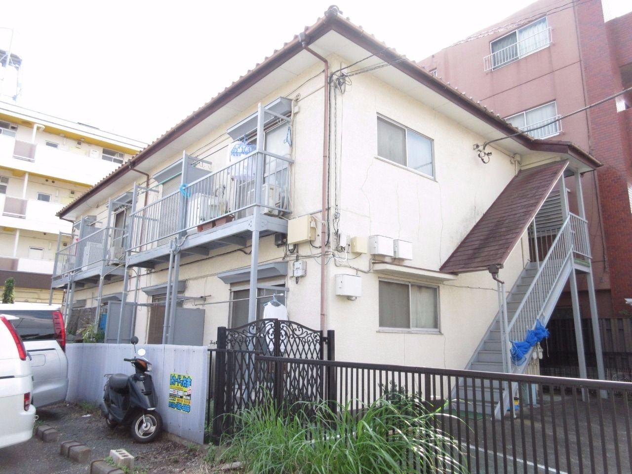【板橋区高島平の賃貸アパート】~昔ながらの懐かしい空間・田中コーポ202号室・1DK~
