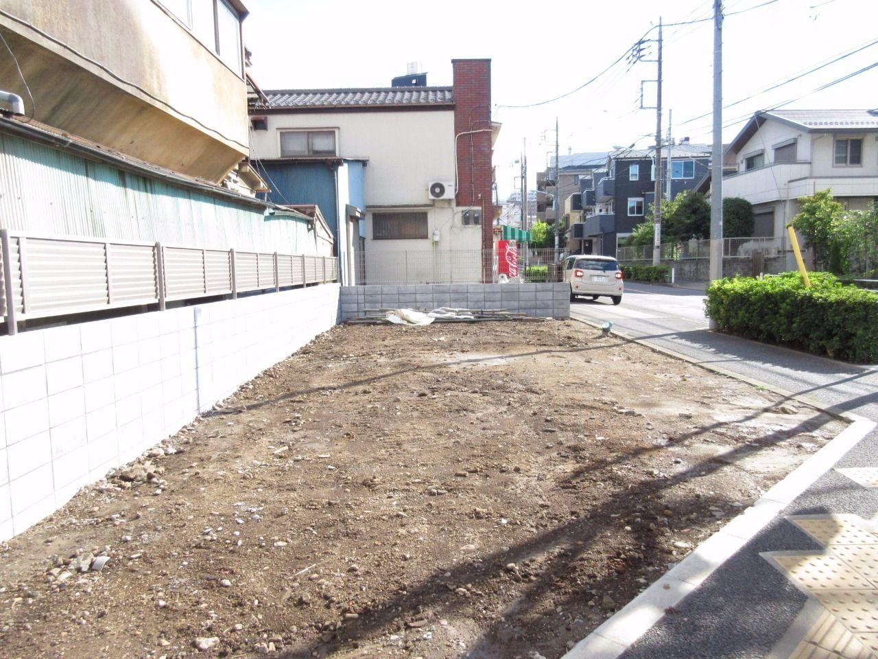 板橋区徳丸の新築戸建現場