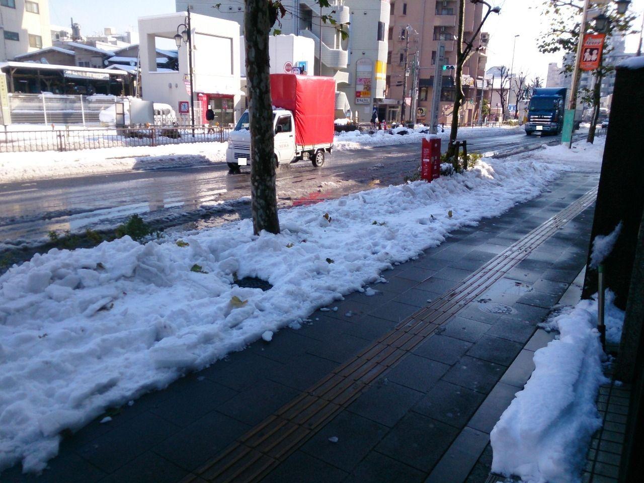 雪・凍結における注意事項